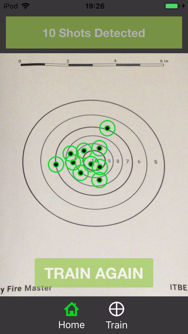 S&W M&P 9 Shield 1.0 at 7 yards